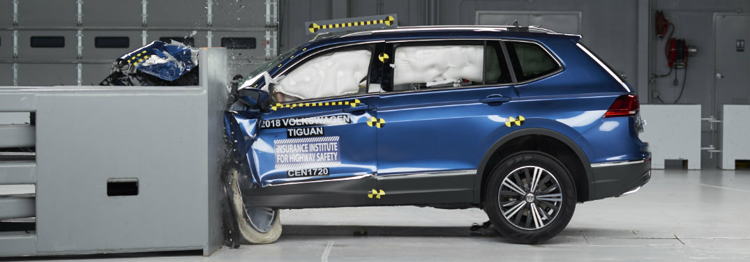 2018 Volkswagen Tiguan safety features