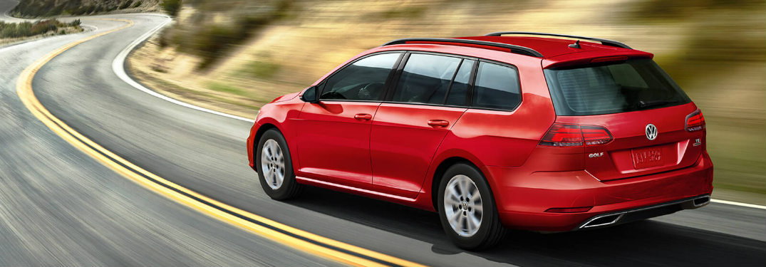 2018 Volkswagen Golf SportWagen Trim Level Differences