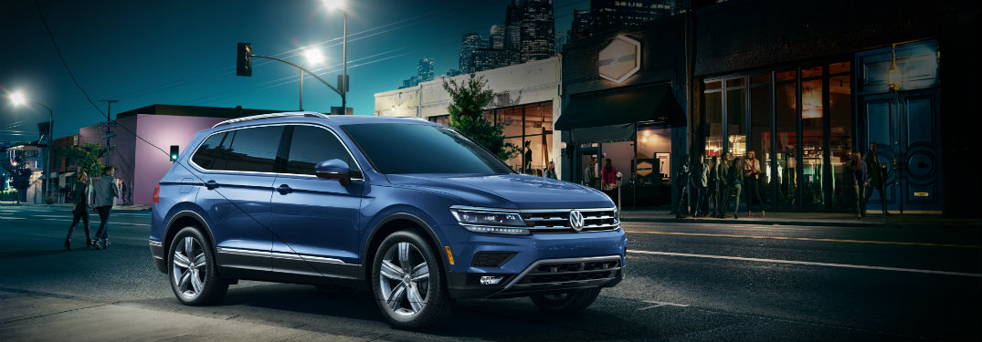 2019 Volkswagen Tiguan Technology Features