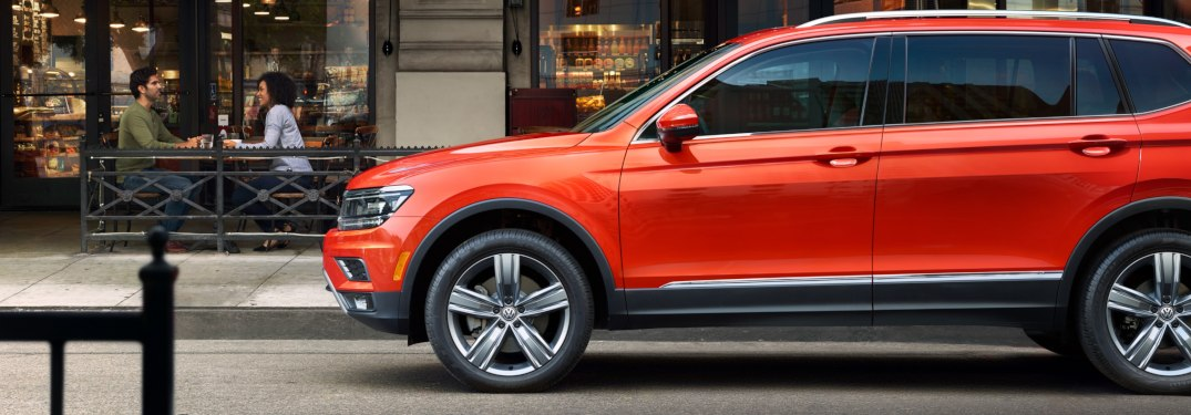 What trim levels are available for the 2019 Volkswagen Tiguan?
