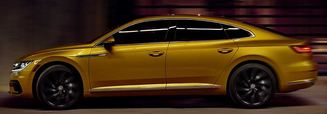 2019 Volkswagen Arteon driving through a tunnel