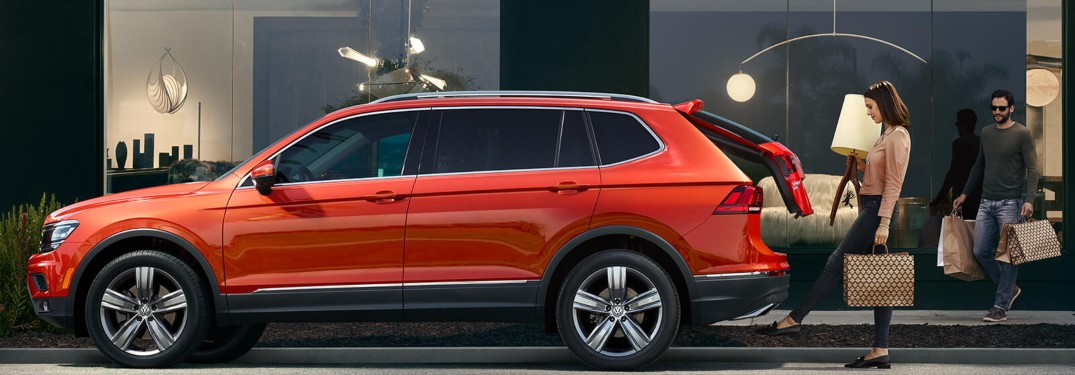 What is the seating capacity of the 2019 Volkswagen Tiguan?