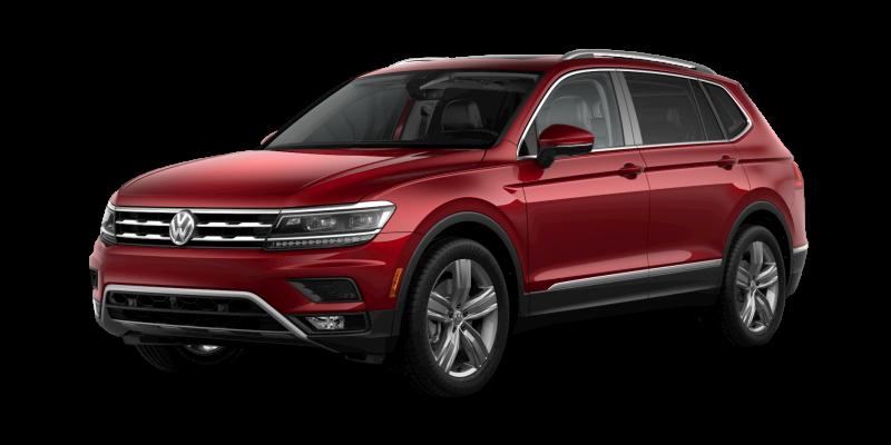 2019 Volkswagen Tiguan Cardinal Red Metallic