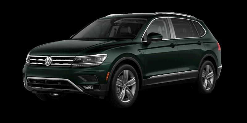 2019 Volkswagen Tiguan Dark Moss Green Metallic