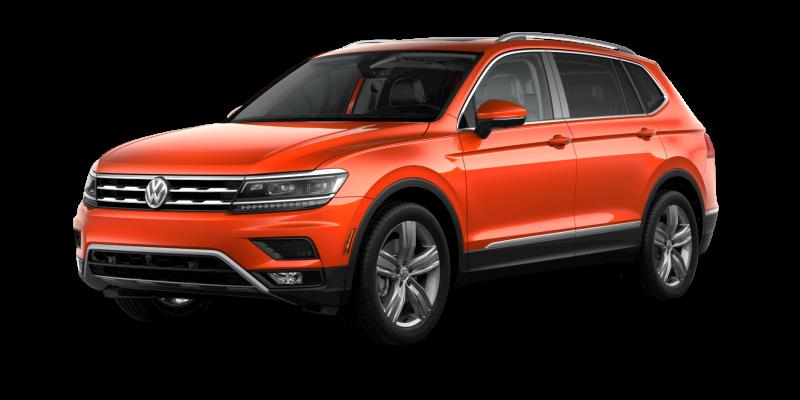2019 Volkswagen Tiguan Habanero Orange