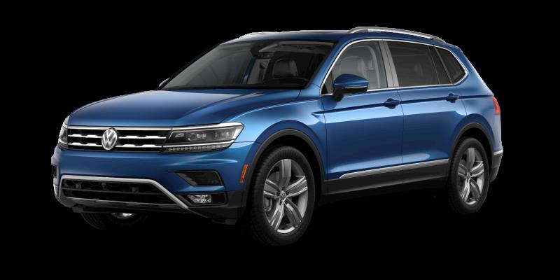 2019 Volkswagen Tiguan Silk Blue Metallic