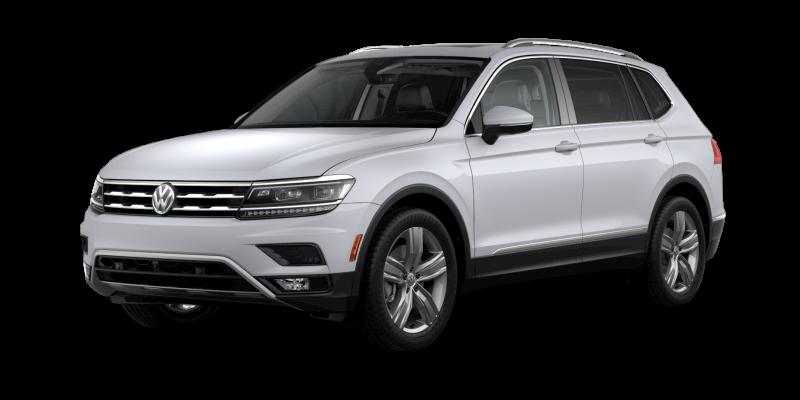 2019 Volkswagen Tiguan White Silver Metallic
