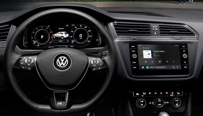 2020 Volkswagen Tiguan dashboard