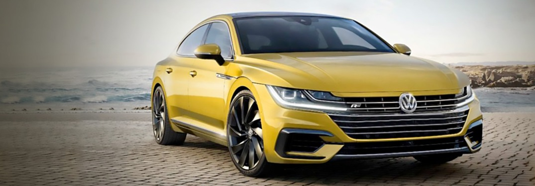 Lineup of 2019 Volkswagen Arteon Color Options