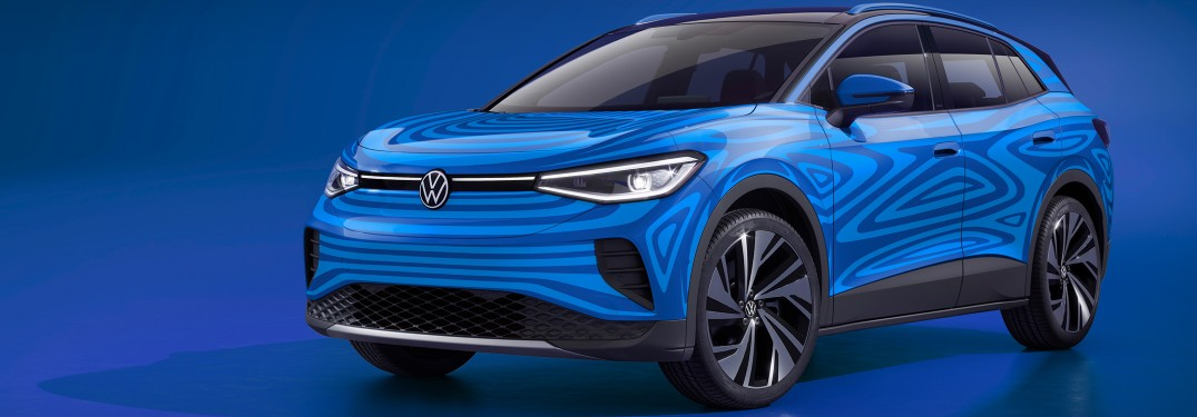 Check Out the 2021 Volkswagen ID.4 Prototype Test Drive