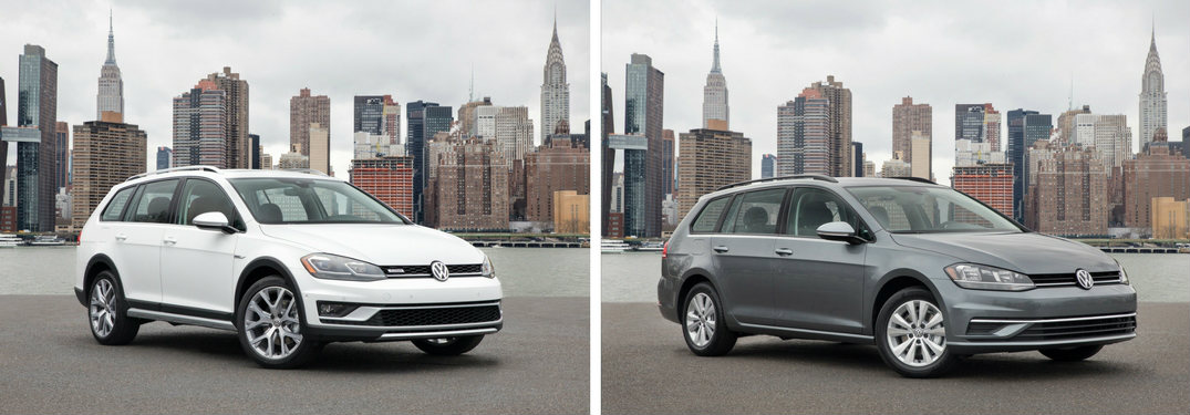 Golf Alltrack And Golf Sportwagen Features And Systems