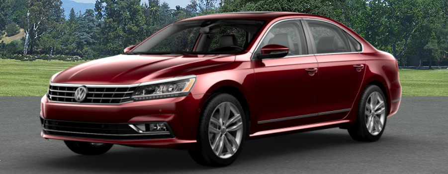 2018 Volkswagen Passat Fortana Red Metallic