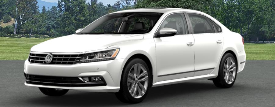 2018 Volkswagen Passat Pure White