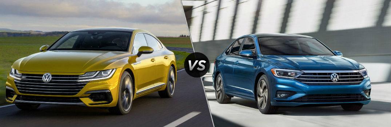 2019 Volkswagen Arteon vs 2019 Volkswagen Jetta