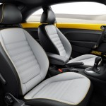 The interior of the 2016 Volkswagen Beetle Dune