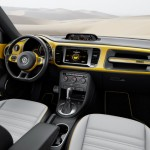 The dashboard of the 2016 Volkswagen Beetle Dune