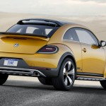 The rear look of the 2016 Volkswagen Beetle Dune