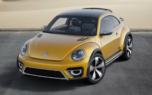 The exterior of the 2016 Volkswagen Beetle Dune