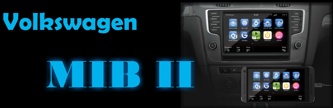 Volkswagen MIB II System will be compatible with most phones