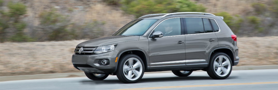 2016 Volkswagen Tiguan engine options and upgrades
