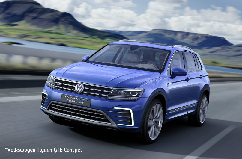 2018 VW Tiguan Hybrid: Rumor Or Reality? >> 2017 Vw Tiguan Gte Hybrid Concept Volkswagen Springfield