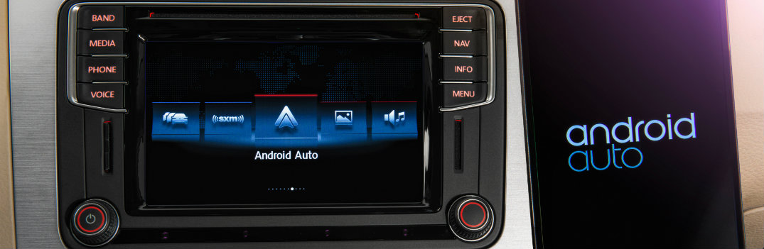 Connecting your phone to Android Auto in Volkswagen models