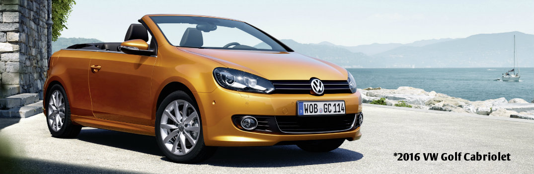 Is Volkswagen bringing back the Golf Cabriolet?