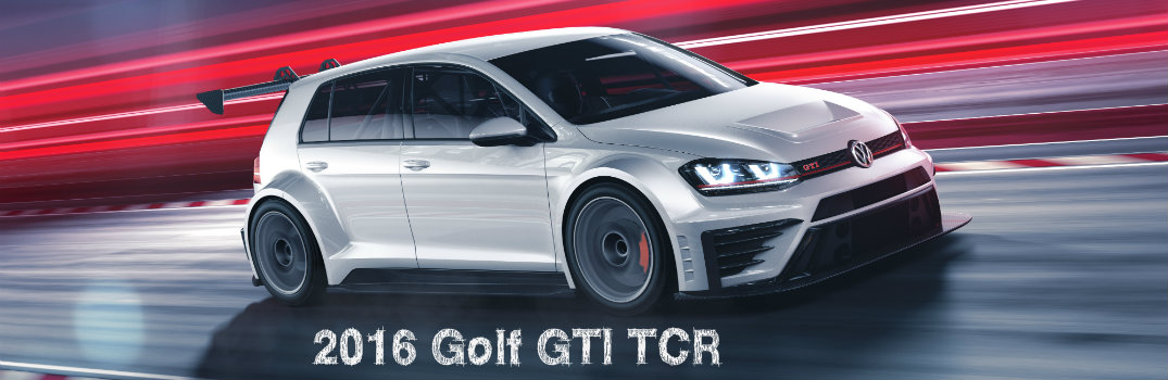40th anniversary VW Golf GTI TCR specs
