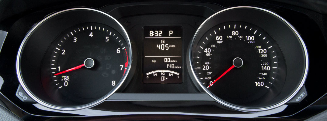 How do you switch forward the time in a VW?