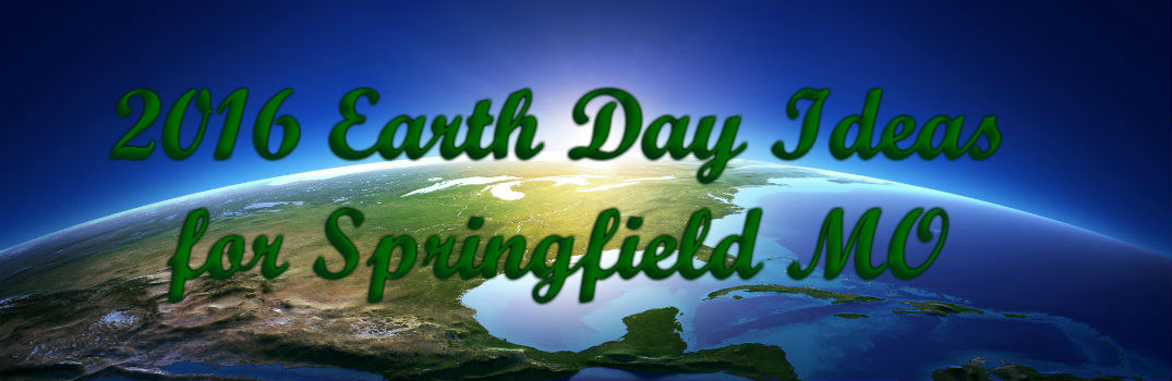 Ways to go green in April for Earth Day 2016