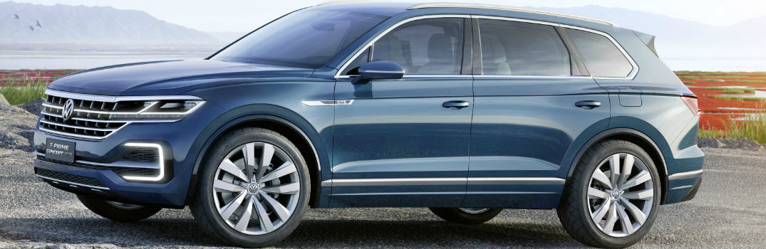Touareg not revealed; VW shows T-Prime concept in Beijing
