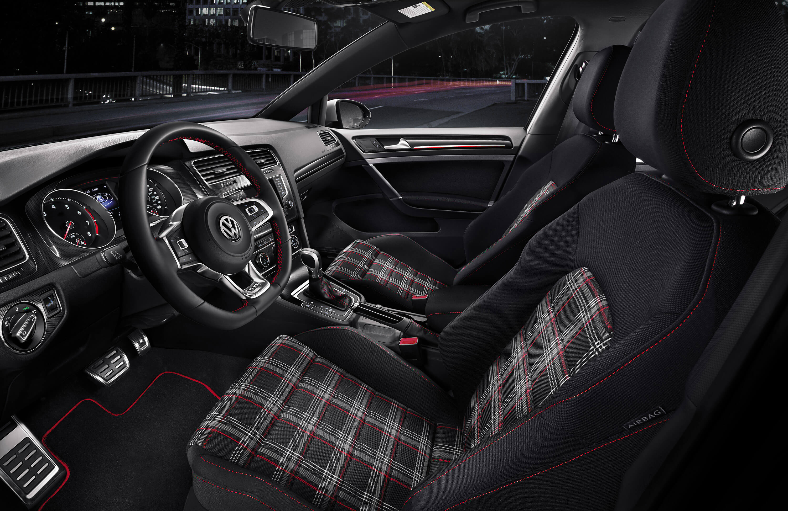 2015 golf gti interior garnet volkswagen. Black Bedroom Furniture Sets. Home Design Ideas