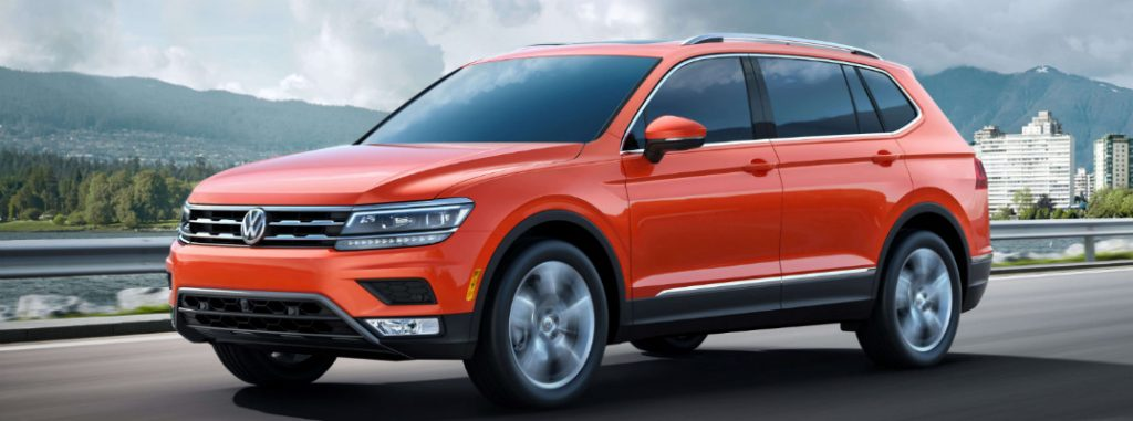 What color options are available for the 2018 VW Tiguan?