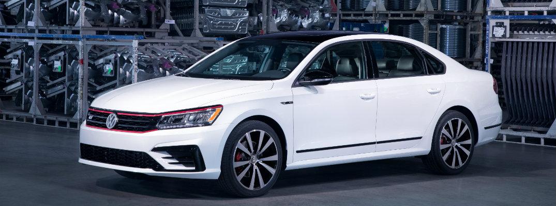 2018 Volkswagen Passat GT exterior shot in network grid background