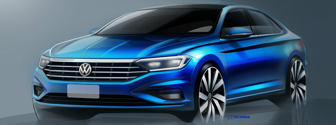 First Look At The Upcoming 2019 Volkswagen Jetta