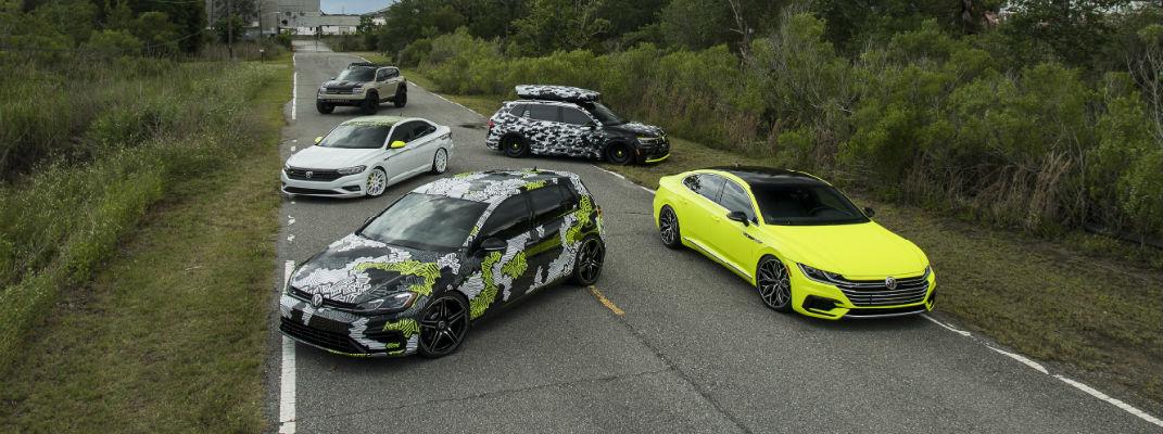 Volkswagen Arteon Atlas Golf R Jetta and Tiguan new concept debuts