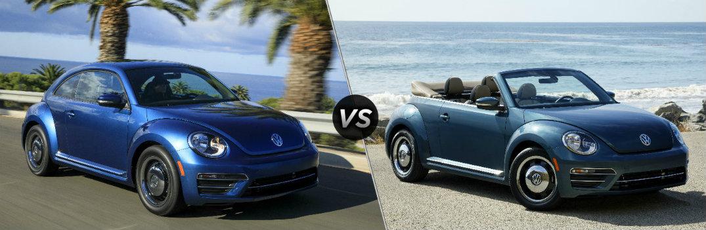 2018 Volkswagen Beetle vs 2018 Volkswagen Beetle Convertible