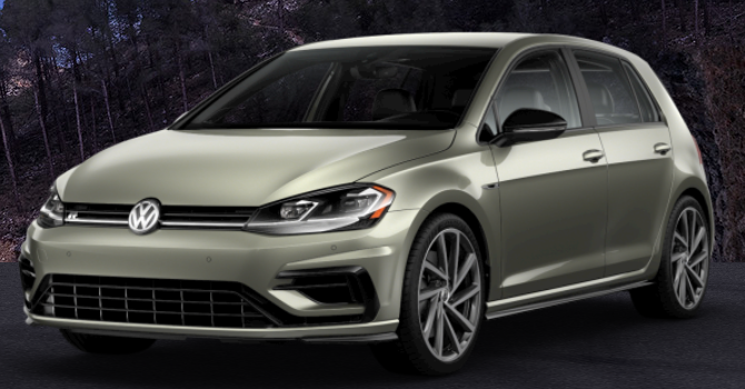 2019 Volkswagen Golf R Anthracite Metallic