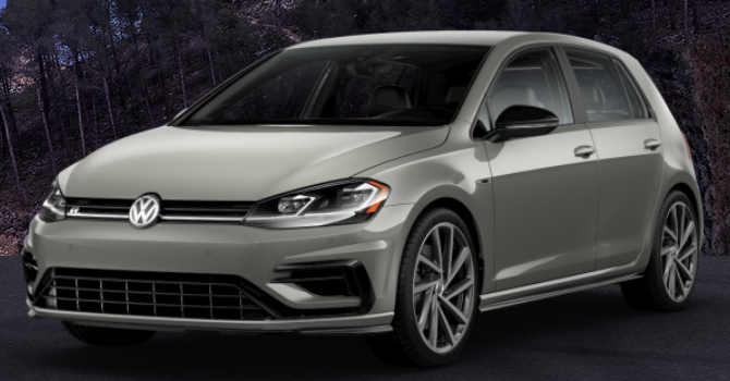 2019 Volkswagen Golf R Dust Gray