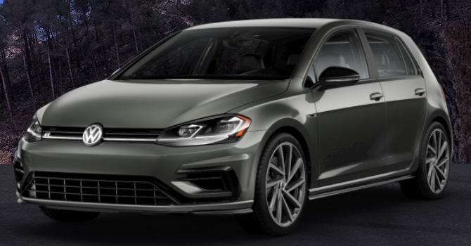 2019 Volkswagen Golf R Graphite Metallic