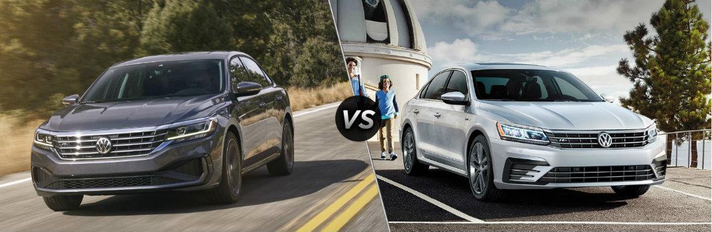 2020 Volkswagen Passat vs 2019 Volkswagen Passat