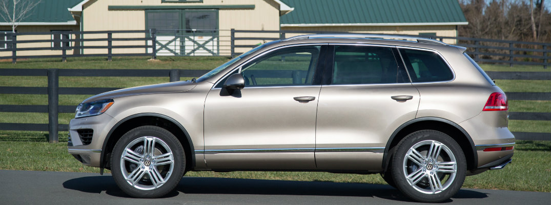 2016 Volkswagen Touareg New Features and Pricing