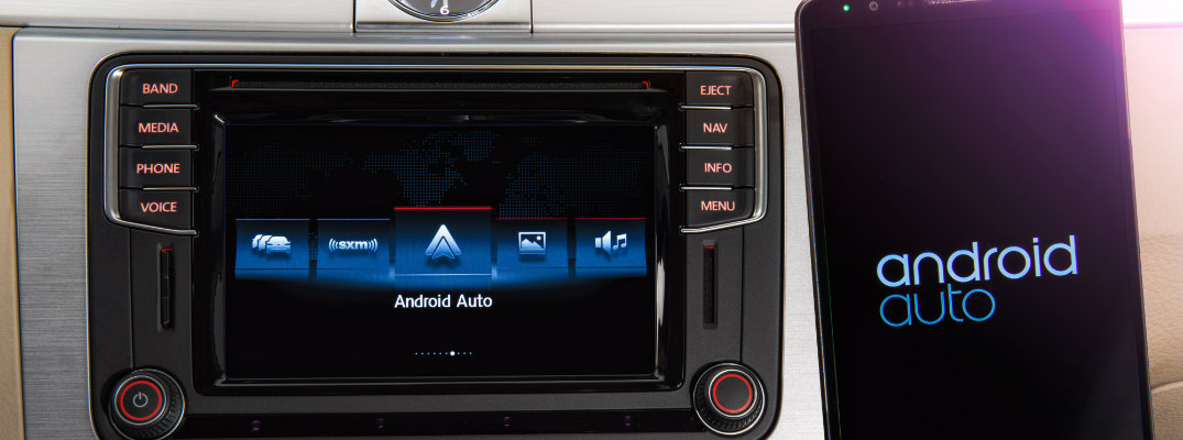 how to connect your phone to android auto in a volkswagen. Black Bedroom Furniture Sets. Home Design Ideas