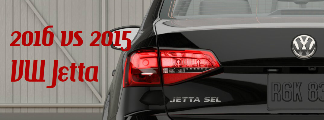 Difference Between 2016 and 2015 Volkswagen Jetta