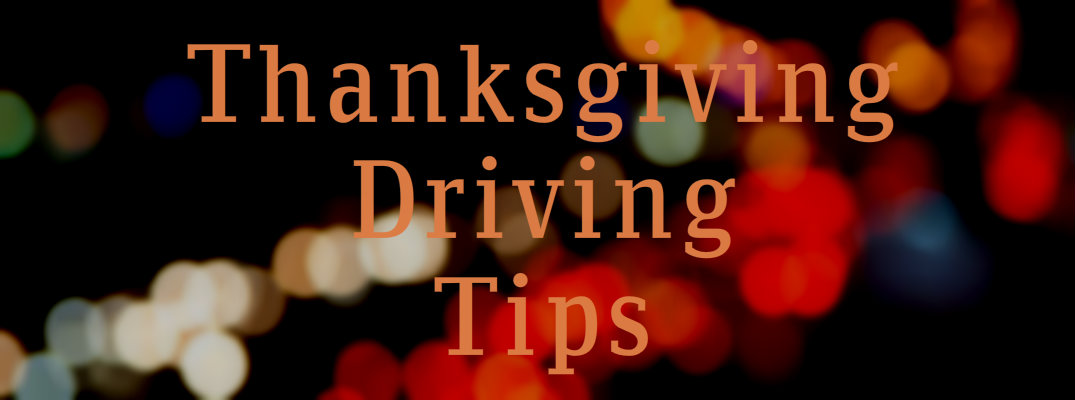 2015 Thanksgiving Driving Tips South Carolina
