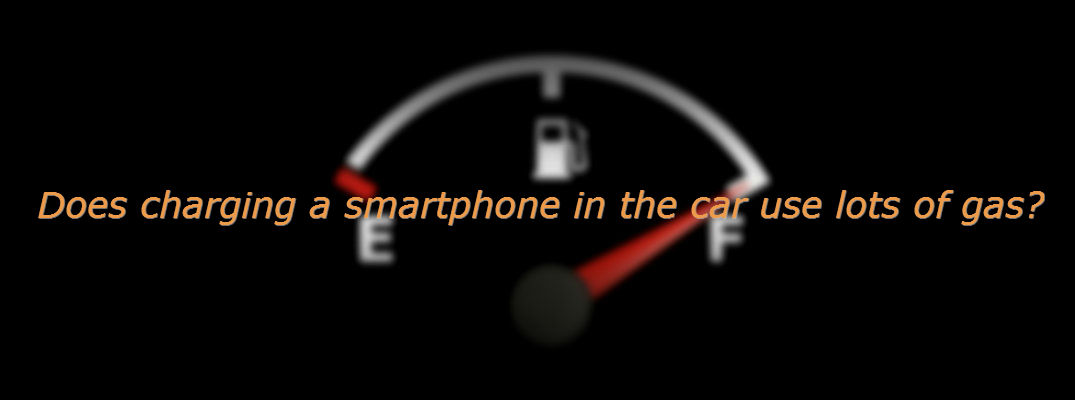Does Charging Your Phone In Your Car Waste Gas?