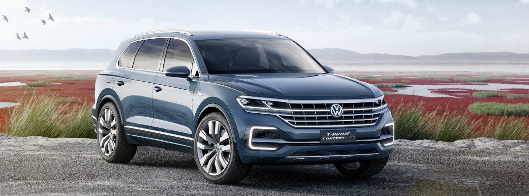 VW T-Prime Plug-In Hybrid SUV Concept Design Features