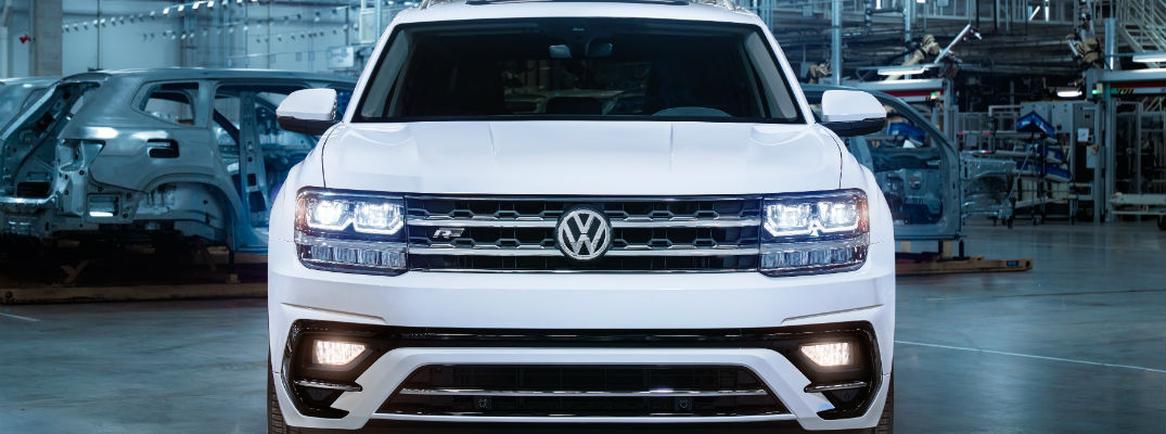 2018 volkswagen atlas r-line package
