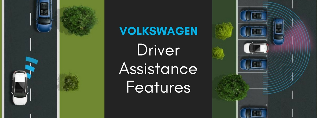 available Volkswagen driver assistance features
