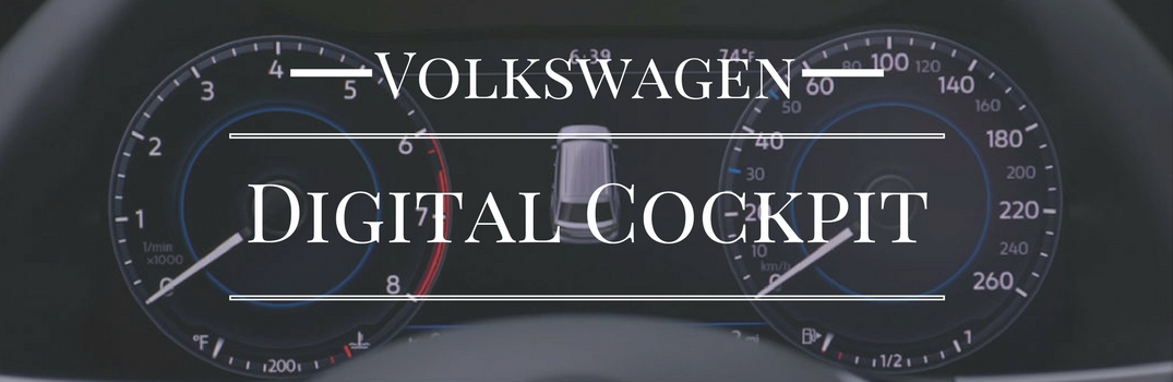 VW Digital Cockpit Information Display Features